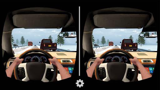 VR Traffic Racing In Car Driving : Virtual Games modiapk screenshots 1