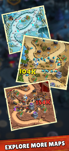 Mini War:Idle Tower Defense Varies with device screenshots 2