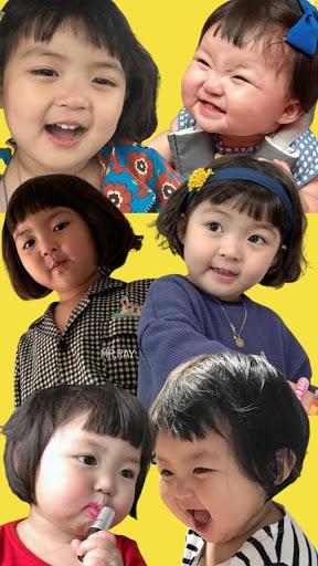 Funny Baby Stickers: Jin Miran Cute WAStickersApp apktram screenshots 2
