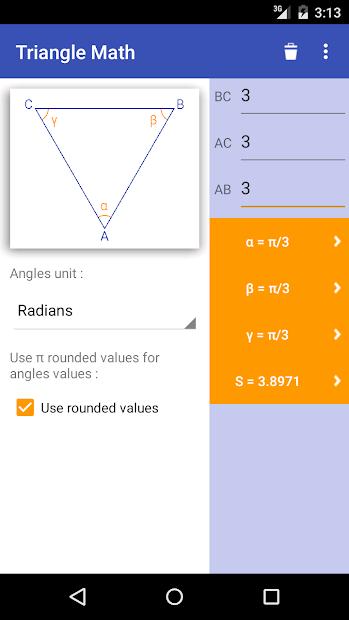 Imágen 5 de Triangle Math - Trigonometry para android