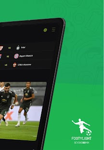 Footylight - Football Highligths & Livescore Screenshot