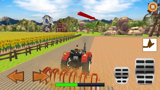 Real Farmer – Tractor Farming Game Simulator 3D Apk 4