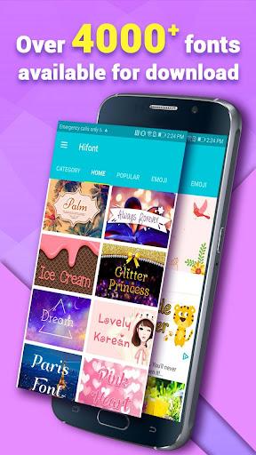 HiFont - Cool Fonts Text Free + Galaxy FlipFont 8.4.4 screenshots 2