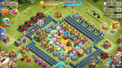 Castle Clash: Quyu1ebft Chiu1ebfn-Gamota screenshots 12