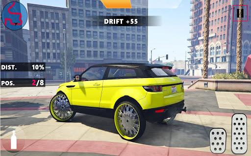 Code Triche Range Rover: Dérive et conduite de voitures APK MOD Astuce screenshots 4