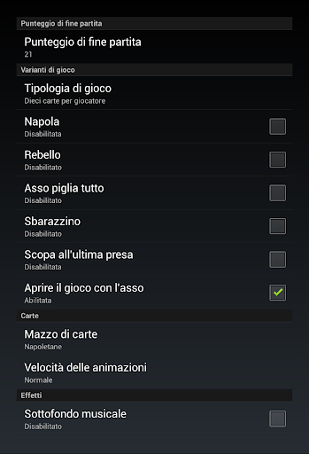 Scopone 2.4.13 screenshots 18