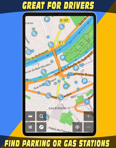 GPS Navigator with Offline Maps 2.6 Screenshots 22