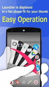Quick Arc Launcher 2 ( Smart One Swipe Launcher ) 2.35.0 Mod + APK + Data UPDATED 2