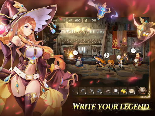 Sdorica: Puzzle & Tactical RPG screenshots 11