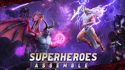 X-HERO: Idle Avengers modiapk screenshots 1