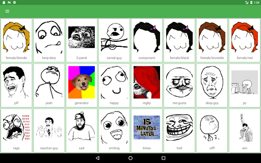 Ffuuu - Rage Comic Maker 1.48 Screenshots 8