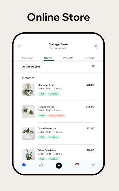 Captura de Pantalla 17 de Wix Owner: crea sitios, tiendas online o blogs para android