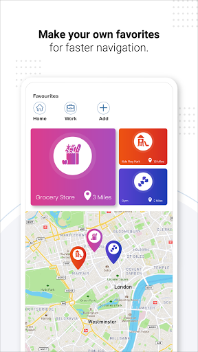 GPS Live Navigation, Maps, Directions and Explore android2mod screenshots 5