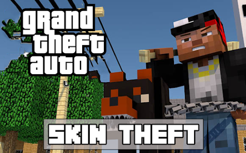 Craft Theft Auto for GTA Minecraft 2021 3