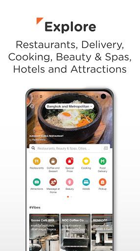 Wongnai: Restaurants & Reviews apktram screenshots 1