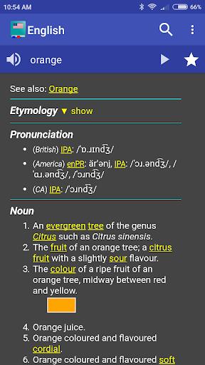 English Dictionary - Offline 5.2.2-1eha screenshots 1