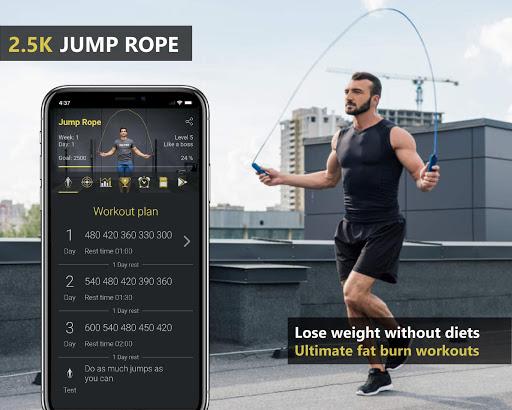 Jump Rope Workout screenshot 1