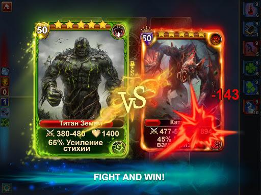 Blood of Titans: Quest & Battle Fantasy CCG screenshots 10