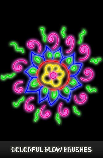 Doodle Spin - Glow Art Spiral Pattern Maker 2018 screenshots 1