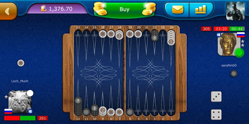 Backgammon LiveGames - live free online game 4.01 screenshots 6