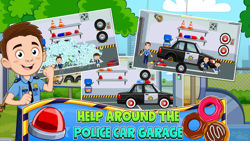 My Town : Police Station. Policeman Game for Kids screenshots 4
