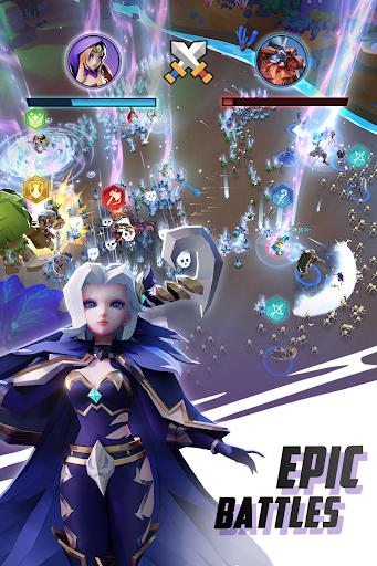 Hero Rush apktreat screenshots 2