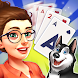 Solitaire Pet Haven - Relaxing TriPeaks Game - カードゲームアプリ
