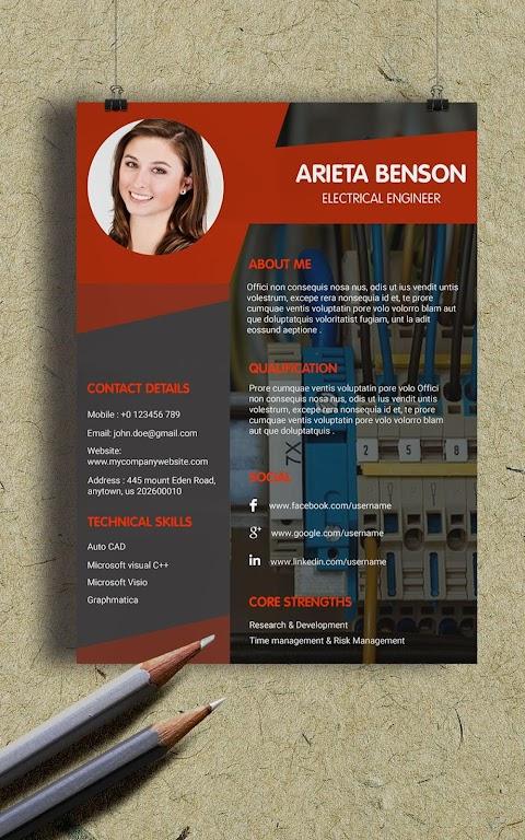Resume Template, Resume Writer & Cover Letter  poster 11