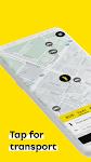 screenshot of HOPIN - taxi, bus, courier