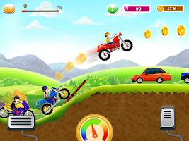 Kids Bike Race-Motorcycle Game