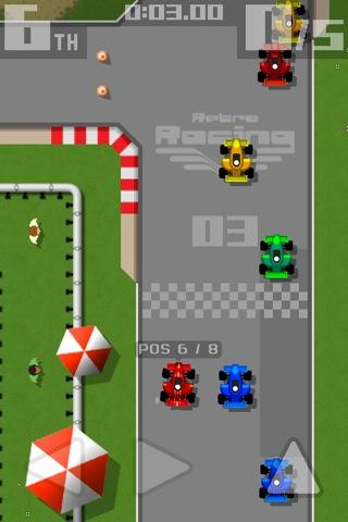 retro racing screenshot 1