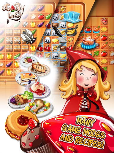 Tasty Tale: puzzle cooking game Apkfinish screenshots 18