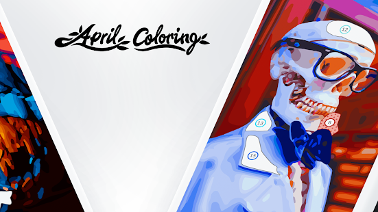 April Coloring - Oil Painting Apkfinish screenshots 2