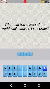 Smart Riddles - Brain Teaser word game
