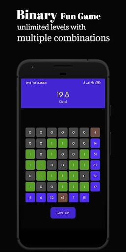 Binary Funu2122: Number System Game 9.0-Free screenshots 9