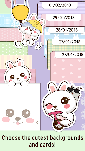 Niki: Cute Diary App 4.2.5 Screenshots 7