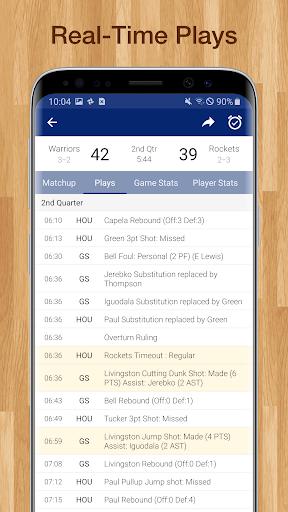 Basketball NBA Live Scores, Stats, & Schedules  screenshots 2