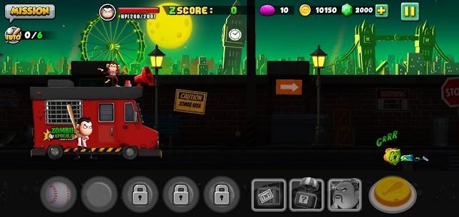 Zombie VS Slugger MOD APK 1.0.12 (Unlimited Money) 2