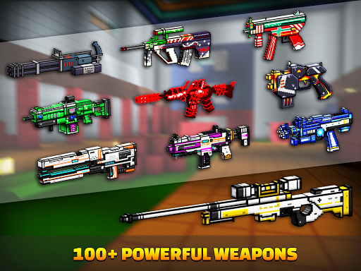 Cops N Robbers - 3D Pixel Craft Gun Shooting Games goodtube screenshots 13