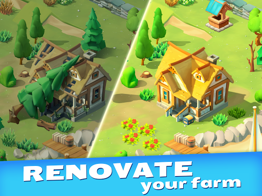 Goodville: Farm Game Adventure screenshots 2