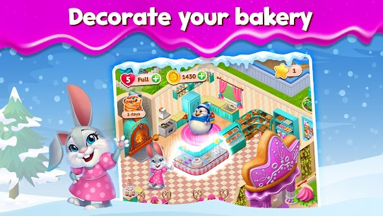 Sweet Escapes: Design a Bakery Mod Apk (Unlimited Star/Life) 8
