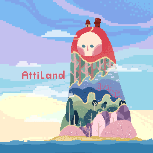 Color Pixel Art - Atti Land