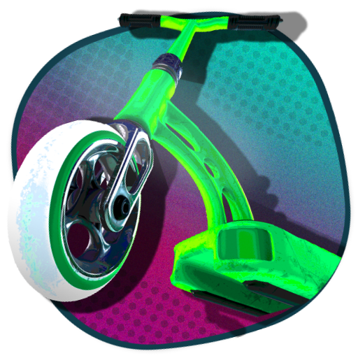 Touchgrind Scooter 3D!! Tricks