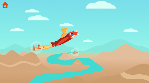 Dinosaur Plane - Plane piloting game for kids 1.1.0 screenshots 7