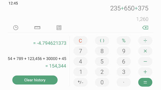 Download Samsung Calculator mod apk 1