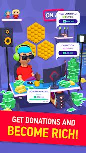 Idle Streamer Mod Apk (Premium Money/No Ads) 10
