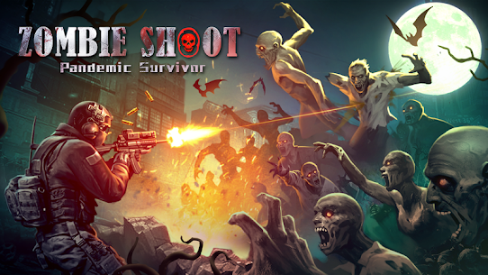 Zombie Shooter:  Pandemic Unkilled 2.1.7 1