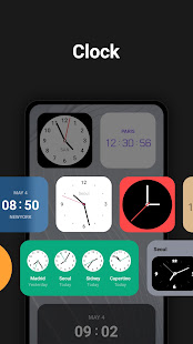 Lockscreen Weather - Clock, Memo, Album, News
