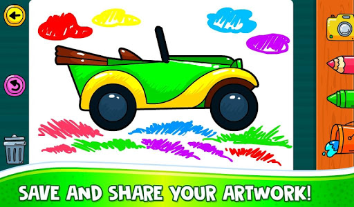 ud83dude97 Learn Coloring & Drawing Car Games for Kids  ud83cudfa8 7.0 screenshots 5