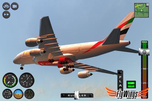 Flight Simulator 2015 FlyWings Free 2.2.0 screenshots 7